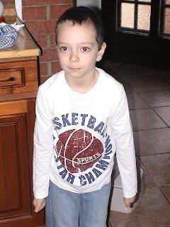 Gergely 5 évesen éppen indul az első versenyére