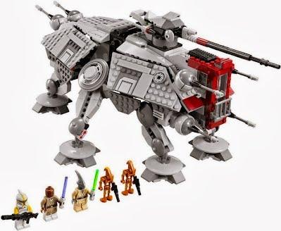 Csillagok háborúja és Lego ez a párosítás is tetszik neki